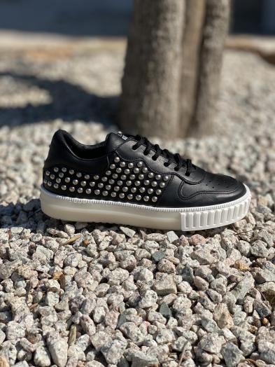Baskets Semerdjian Rock noires